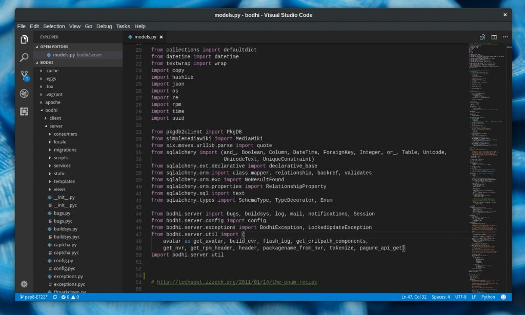 VS code in Notepad++ alternatives for Linux