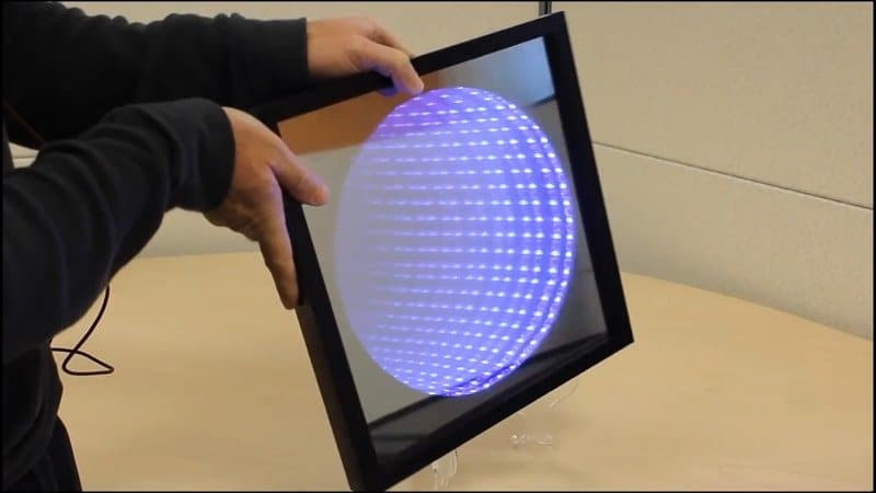 Kaleidoscope Infinity Mirror project with Arduino