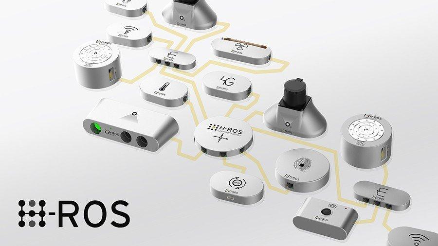 ROS iot software for robotics