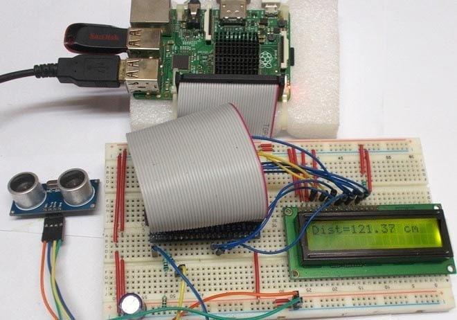 Raspberry Pi Distance Sensor