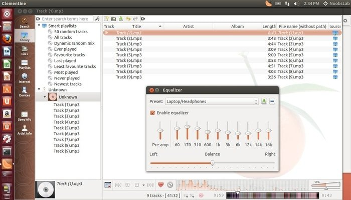 clementine Radio Streaming Software for Linux