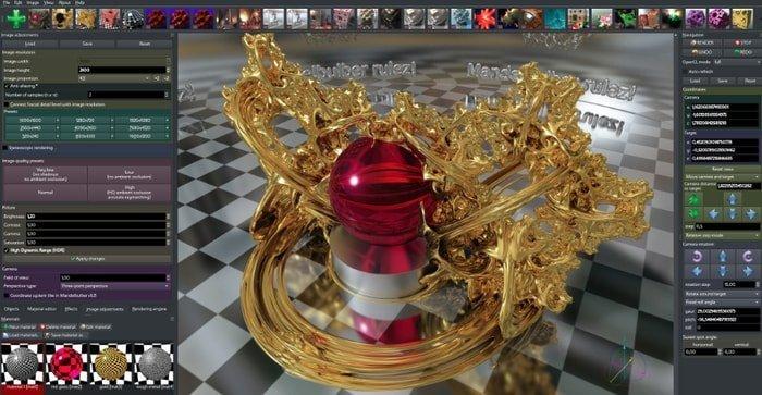 Mandelbulber-fractal software