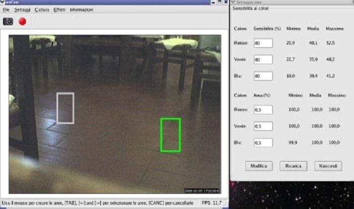 wxcame-Linux Camera Software