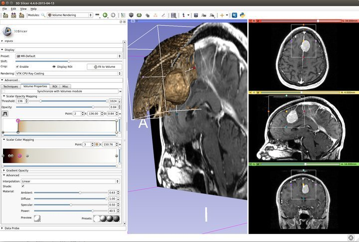 3D Slicer medical imaging software for Linux