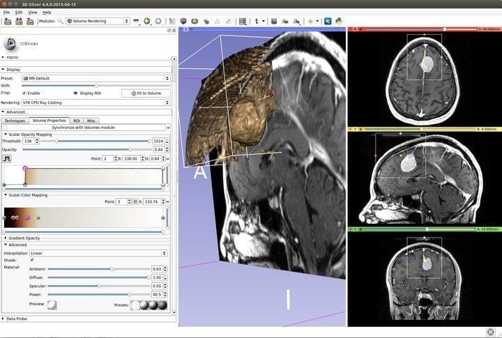 3D Slicer medical imaging software for Linux