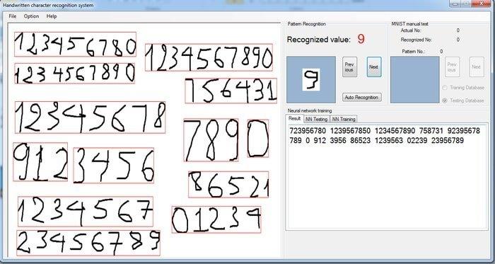 handwritten digit