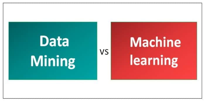 data mining vs. machine learning