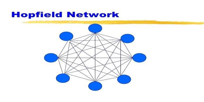 hopfield network - machine learning algorithm