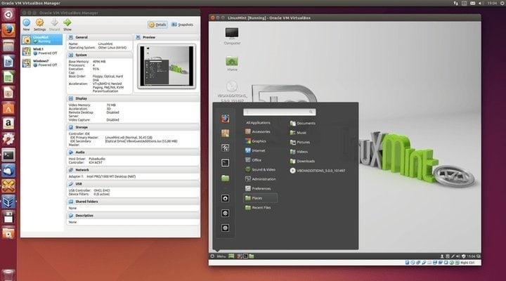 VrtualBox Windows emulator for Linux