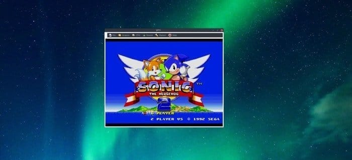 Gens emulator for Sega Mega Drive