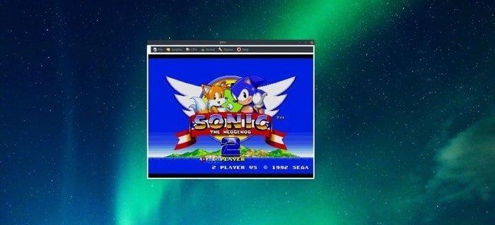 Gens emulator for Sega Mega Drive