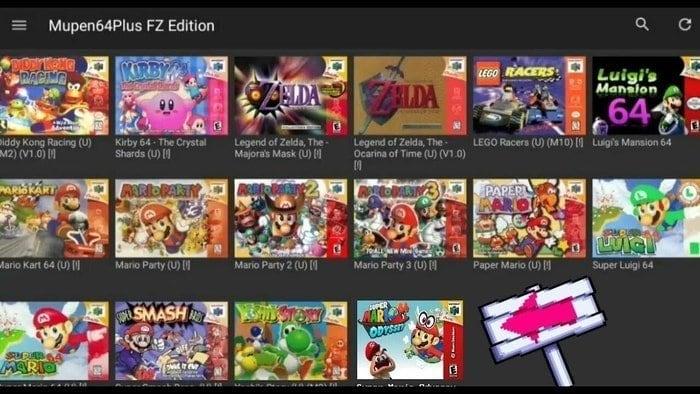 Mupen64Plus N64 Emulators