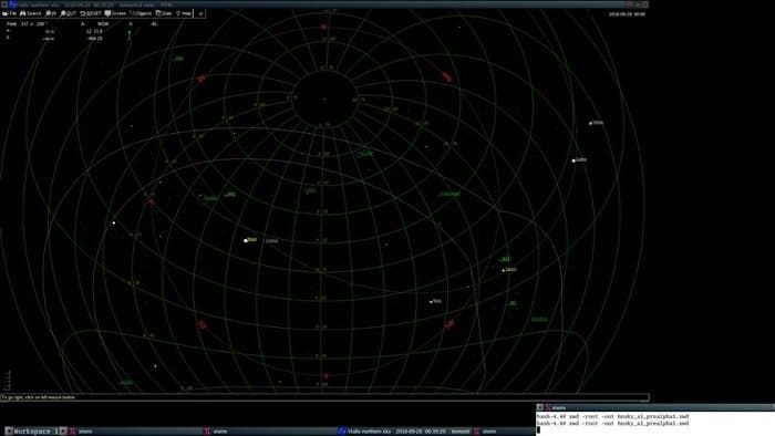 hnsky astronomy software