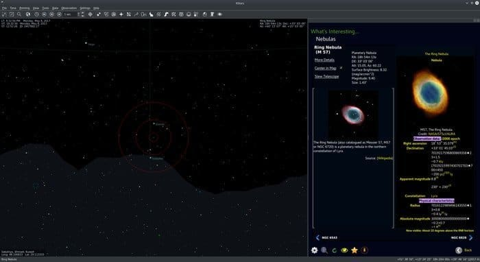 kstars astronomy software