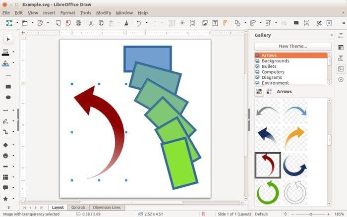libreoffice_draw vector graphics software