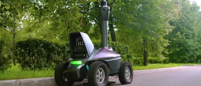 night-petrolling-robot
