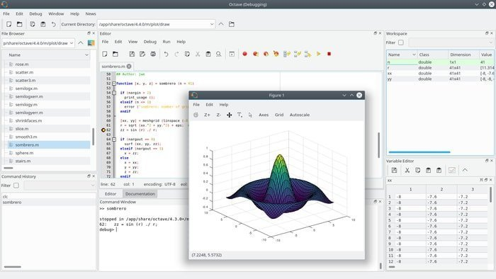 octave-Linux command line plotting tool