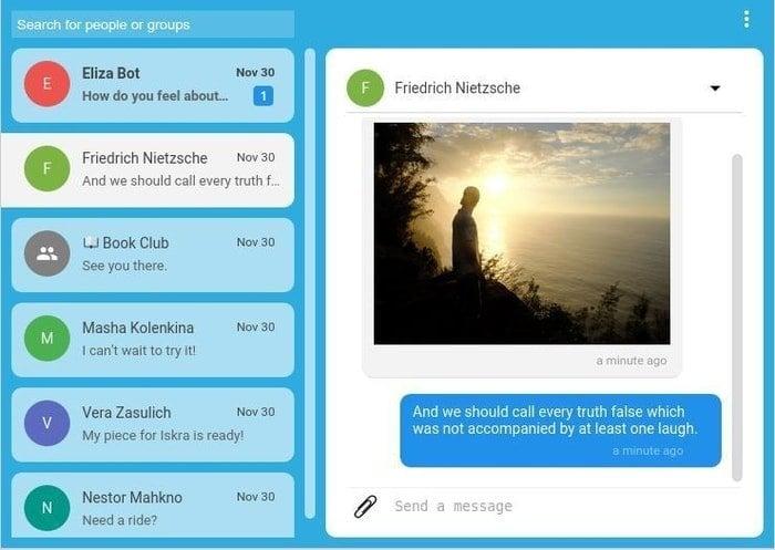 Signal-Instant messaging programs