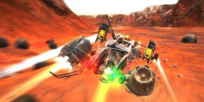 vector36 racing game