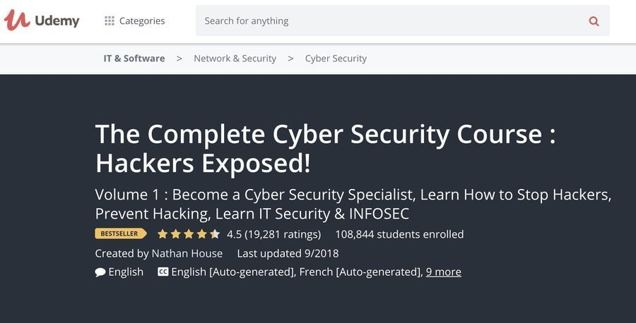 Complete Cybersecurity Course: Hackers Exposed