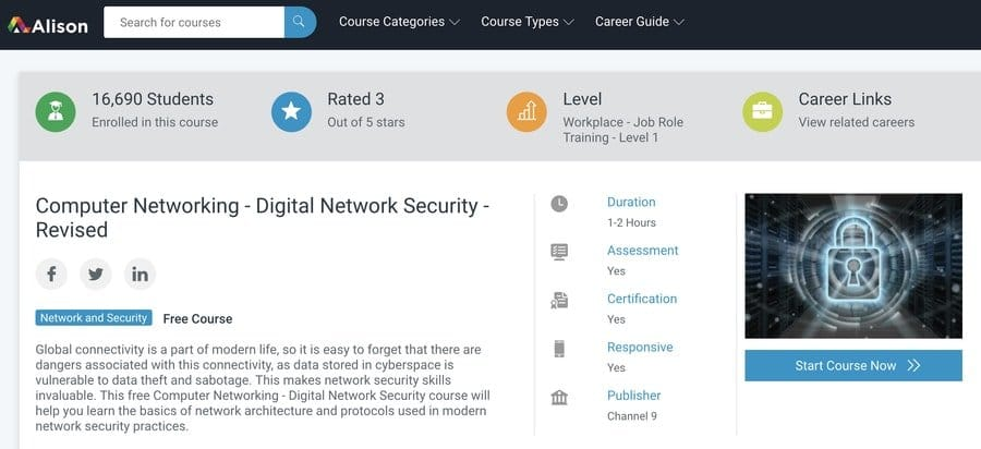 Computer Networking - Digital Network Security