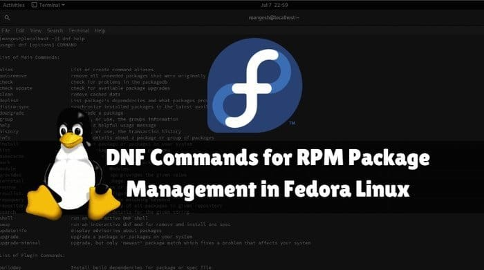 Package Management fedora