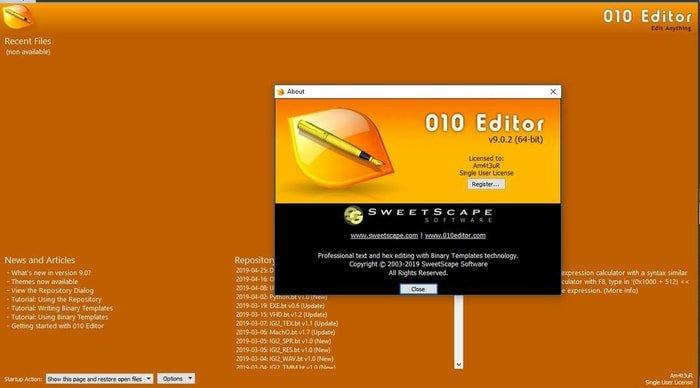 010 Hex Editor
