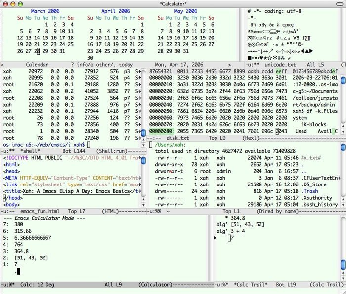 emacs linux hex editor