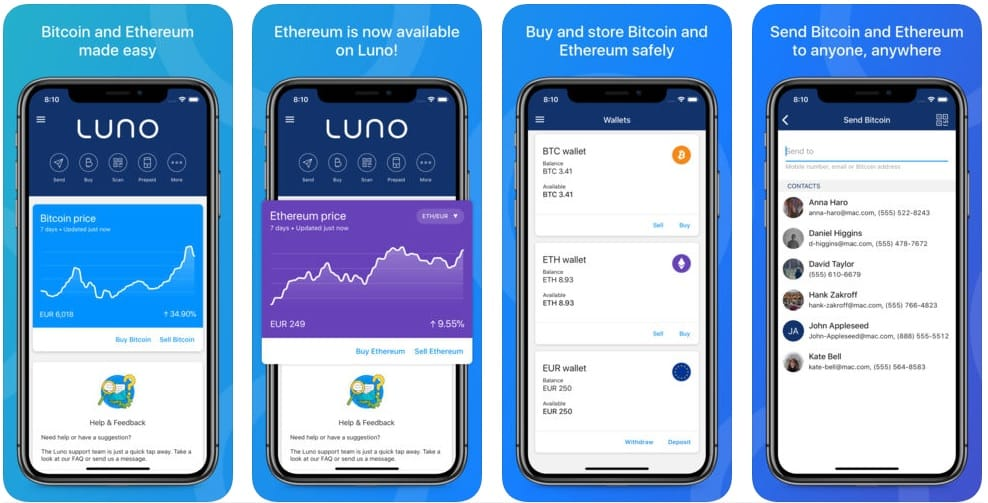 luno cryptocurrency exchange platforms