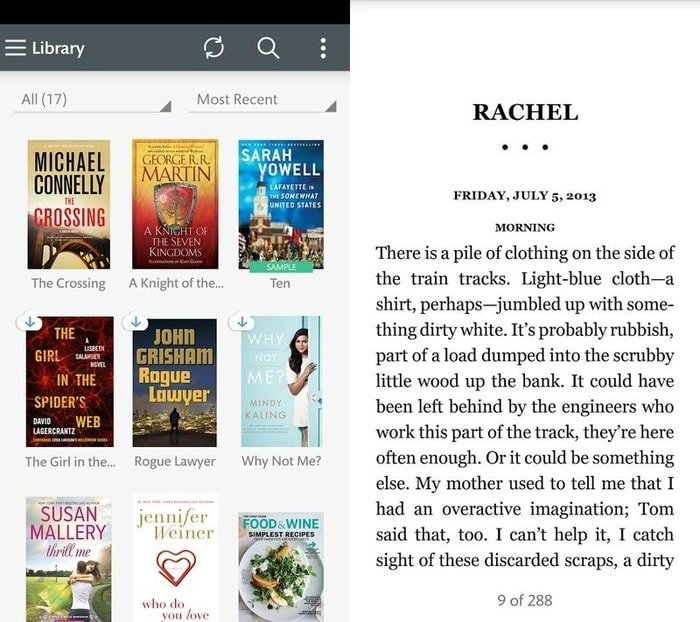 nook reading app for Android