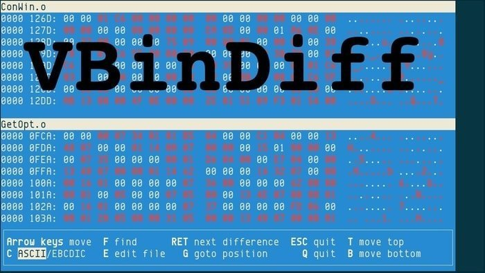 vbindiff linux hex editor