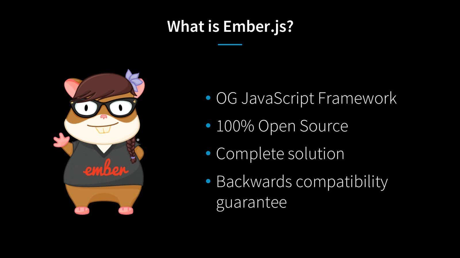 An introduction to Ember Js- JavaScript Frameworks With Four Features