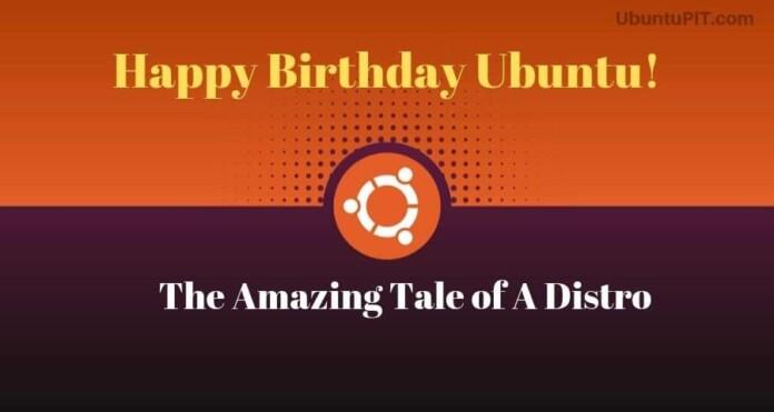 Happy Birthday Ubuntu Linux