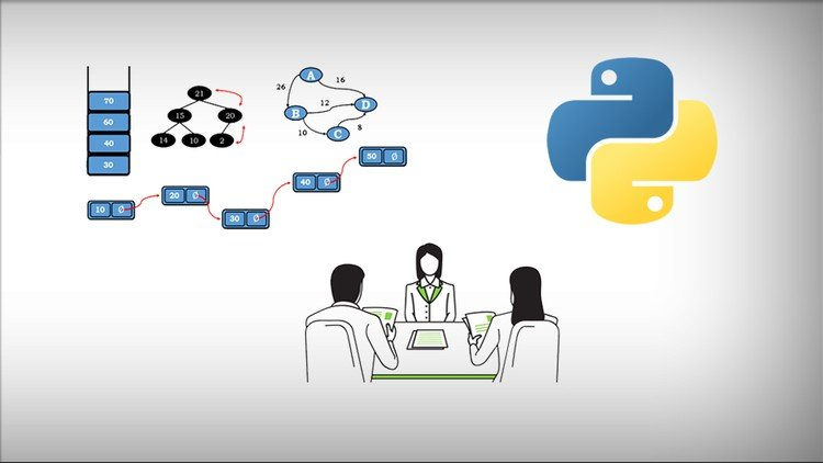 Gradient White-Black Background: Data Flow Charts On Top Left, 3 People in Meeting Logo In Middle Down and Logo On Right Top