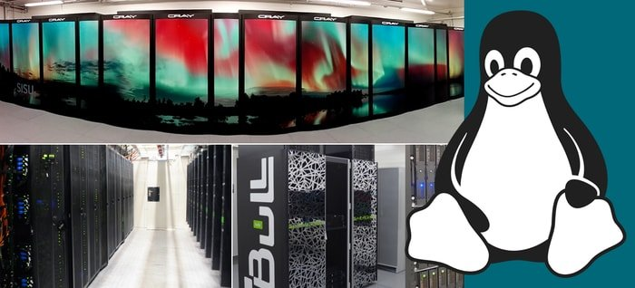 linux based supercomputers