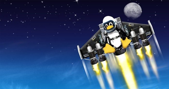 linux in space