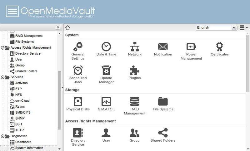 Open Media Vault