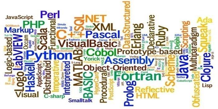programming language AI_vs_ML
