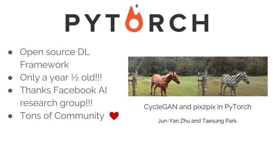 Features Of Pytorch - One of Python libraries