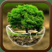 Green Nature Cartoon Theme