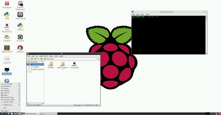 Raspberry Pi OS- Raspbian