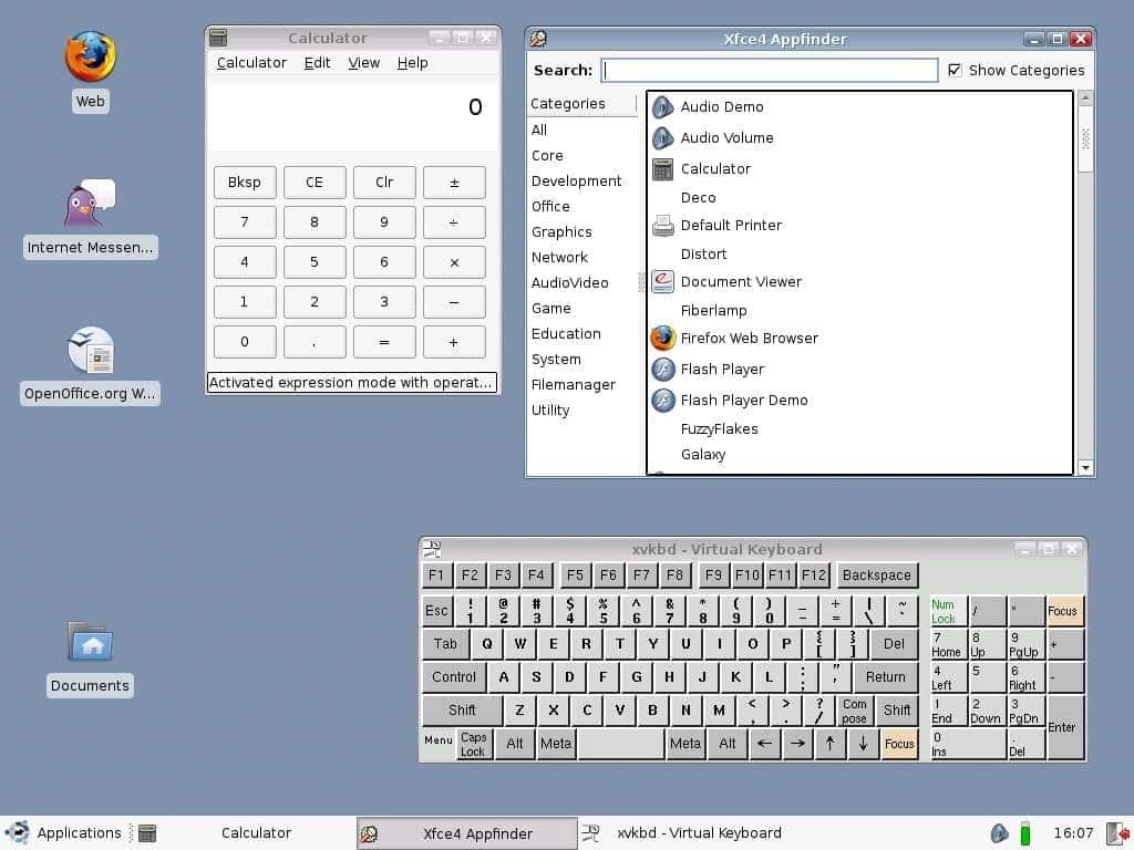 Raspberry Pi OS -linutop_desk_toolsl