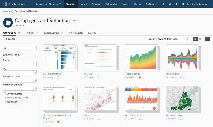tableau data visualization tools
