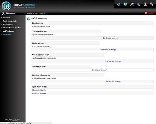 free web hosting control panel