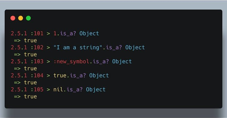 ruby code snippet