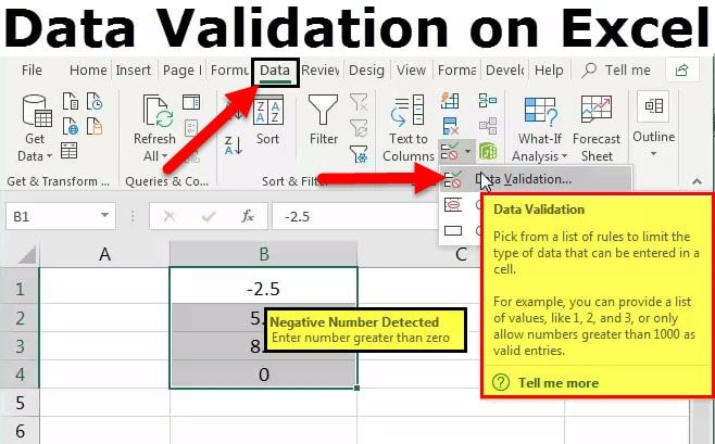 steps in data validation