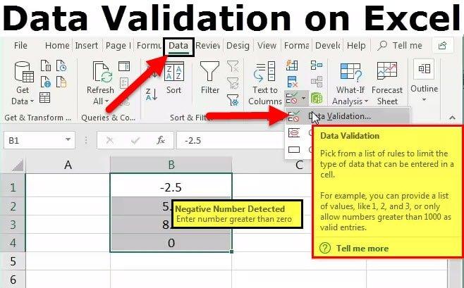 steps in data validation