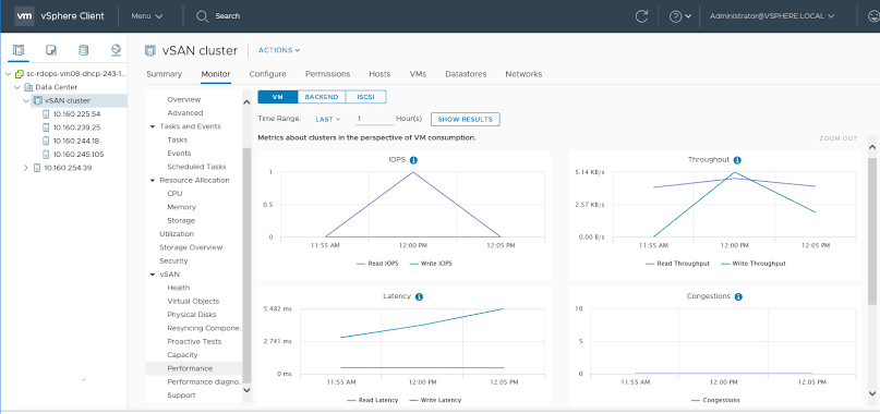vSAN-performance monitor