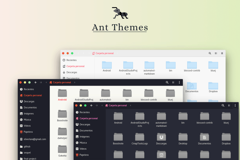 ant mate themes