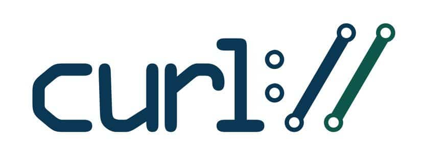 logo of curl command in Linux